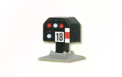 Licht-Gleissperrsignal (DB 1969), nieder <br/>Viessmann 4418