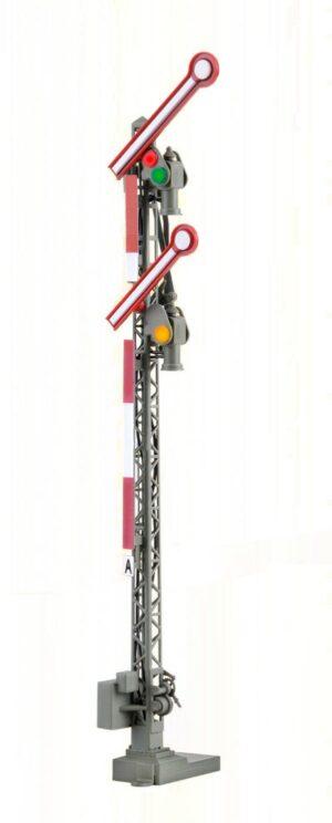 Form-Hauptsignal, digital, 2-flügelig, gekoppelt <br/>Viessmann 4701