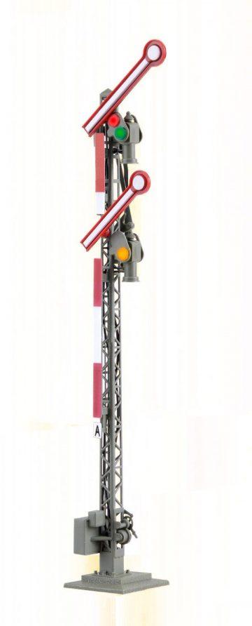 Form-Hauptsignal, digital, 2-flügelig, ungekoppelt <br/>Viessmann 4702 1