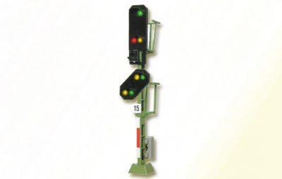 Licht-Einfahrsignal mit Vor-Signal (DB 1969) <br/>Viessmann 4915