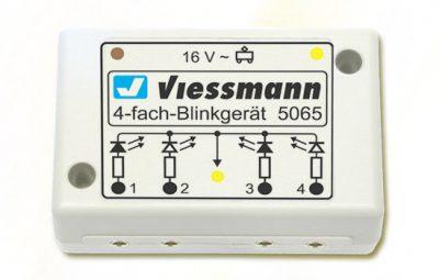 Elektronik, Blinkelektronik für Andreaskreuze <br/>Viessmann 5065