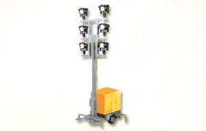 Leuchtgiraffe auf Anhänger mit LED <br/>Viessmann 5143