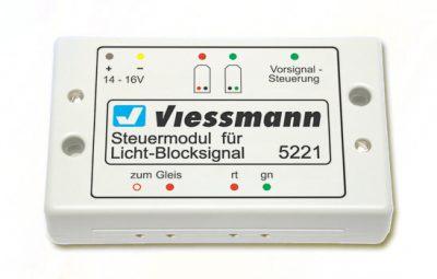 Elektronik, Steuermodul für Licht-Blocksignal <br/>Viessmann 5221