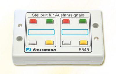 Tasten-Stellpult 4-begriffig <br/>Viessmann 5545