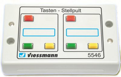 Tasten-Stellpult 3-begriffig <br/>Viessmann 5546