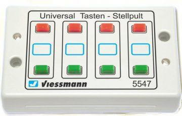 Tasten-Stellpult 2-begriffig <br/>Viessmann 5547 1