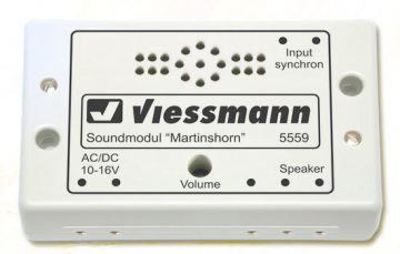 Elektronik, Sound, Martinshorn <br/>Viessmann 5559 1
