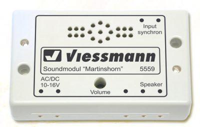 Elektronik, Sound, Martinshorn <br/>Viessmann 5559