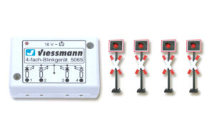 Andreaskreuze, mit Blink-Elektronik, 4 Stück <br/>Viessmann 5800