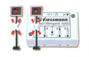Andreaskreuze, mit Blink-Elektronik, 2 Stück <br/>Viessmann 5801
