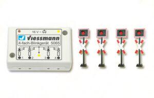 Andreaskreuze, mit Blink-Elektronik, 4 Stück <br/>Viessmann 5835