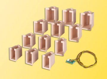 Innenbeleuchtung für Gebäude-Startset, 12 Boxen <br/>Viessmann 6005 2