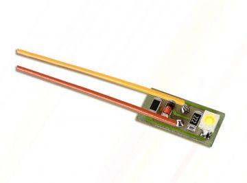 Innenbeleuchtung für Gebäude mit 1 LED, gelb, 10 Stück <br/>Viessmann 6007 1