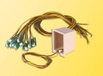 Innenbeleuchtung für Gebäude mit 1 LED, gelb, 10 Stück <br/>Viessmann 6007 3