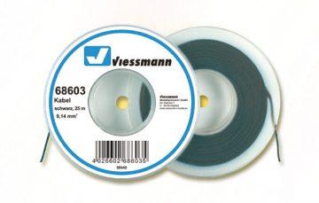 Kabel, 25 m, 0,14 mm², schwarz <br/>Viessmann 68603 1