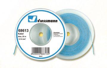 Kabel, 25 m, 0,14 mm², blau <br/>Viessmann 68613 1