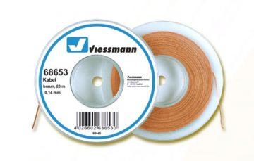 Kabel, 25 m, 0,14 mm², braun <br/>Viessmann 68653 1
