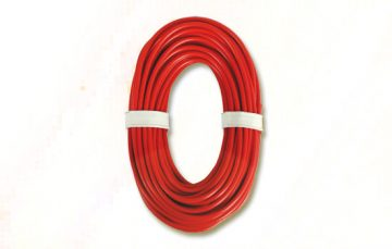 Kabel, 10 m, Hochstrom, rot <br/>Viessmann 6895 1
