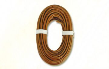 Kabel, 10 m, Hochstrom, braun <br/>Viessmann 6896 1