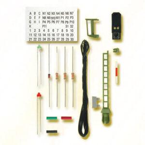 Licht-Blocksignal, Bausatz, wie 4911 Viessmann 7731