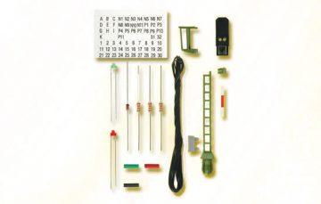 Licht-Blocksignal, Bausatz, wie 4911 <br/>Viessmann 7731 1
