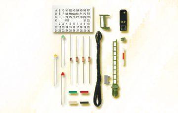 Licht-Einfahrsignal, Bausatz, wie 4912 <br/>Viessmann 7732 1