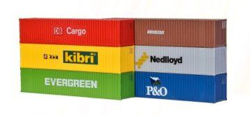 40-Fuss-Container, 6 Stuec <br/>kibri 10922 1