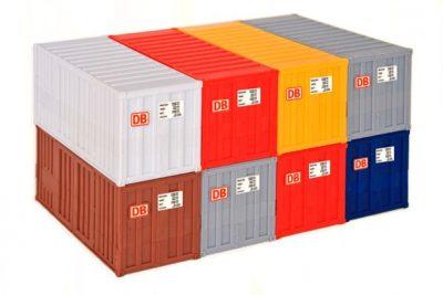 20-Fuss-Container, 8 Stuec <br/>kibri 10924