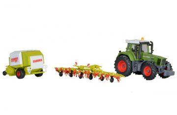 Traktor Fendt mit Anbauger <br/>kibri 12233 1