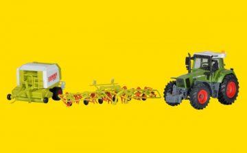Traktor Fendt mit Anbauger <br/>kibri 12233 2