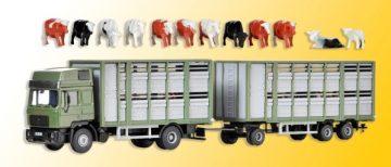 Viehtransporter mit Anh
