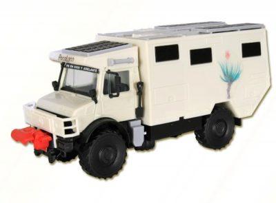 UNIMOG Wohnmobil Unicat <br/>kibri 14977