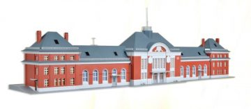 Bahnhof Friedrichstal <br/>kibri 36704 1