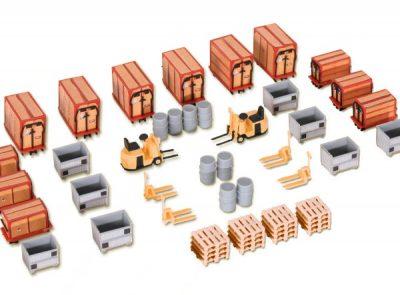 Kleincontainer u. Ladegut <br/>kibri 38647