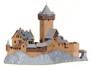 Burg Falkenstein in Kaernt <br/>kibri 39010
