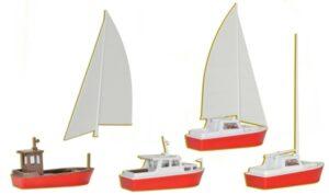 Set Boote <br/>kibri 39160