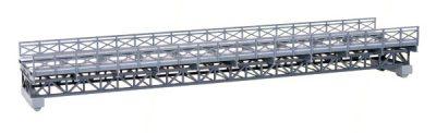 Brücke, Fachwerk-Stahlbrücke ein <br/>kibri 39707