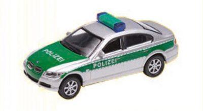 BMW 330i Polizei, silber <br/>Vollmer 41630
