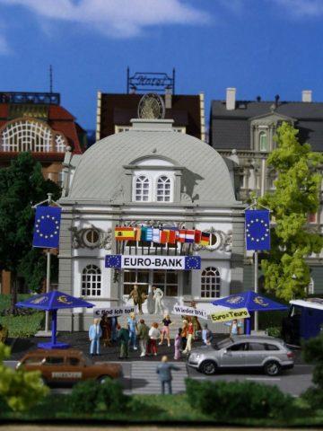 Euro-Bank mit Euro-Sonnens <br/>Vollmer 42002 1