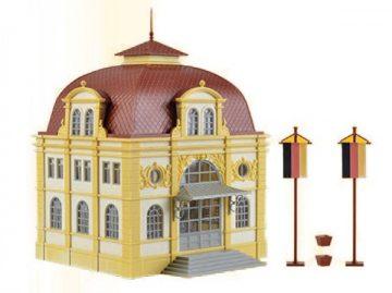 Botschaftsgebäude mit Beleuchtung <br/>Vollmer 42004 1