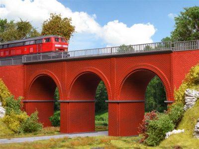Brücke, Backstein-Viadukt <br/>Vollmer 42513