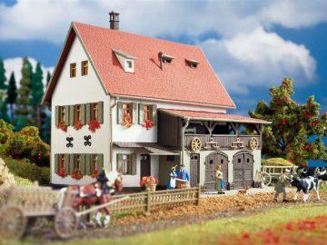 Bauernhaus mit Scheune, Re <br/>Vollmer 43721 1