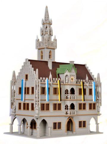 Großstadt-Rathaus, Profess <br/>Vollmer 43760 2