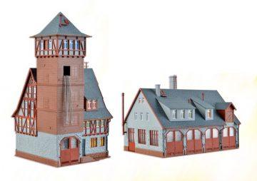 Feuerwehr-Stützpunkt, fünfs <br/>Vollmer 43767 1