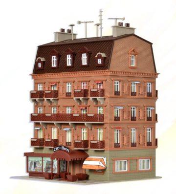 City-Hotel mit Inneneinrichtung <br/>Vollmer 43782 1