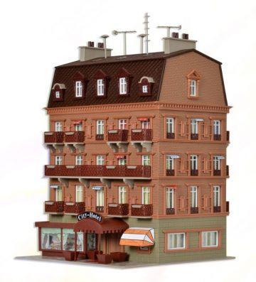 City-Hotel mit Inneneinrichtung <br/>Vollmer 43782 3
