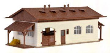 Reitstall mit Pferdekoppel <br/>Vollmer 43790 2