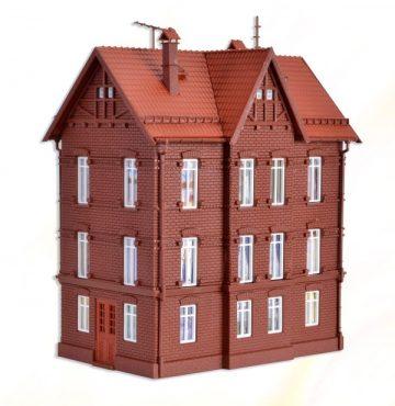 Eisenbahner-Wohnhaus mit F <br/>Vollmer 43806 1