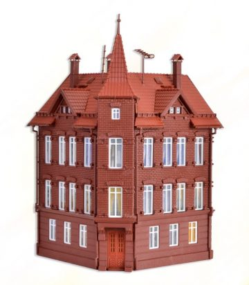 Eisenbahner-Wohnhaus, Eckh <br/>Vollmer 43807 1