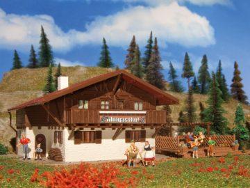 Almgasthof mit Holzterasse <br/>Vollmer 43960 1